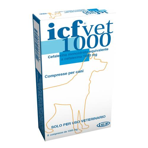 ICFVET*8CPR 1000MG