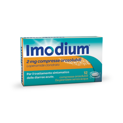 IMODIUM Compresse Orosolubili 12 compresse
