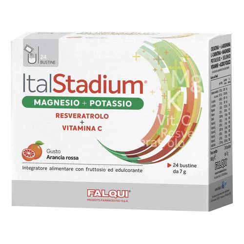 ITALSTADIUM MAG/POT/VIT C 24BS