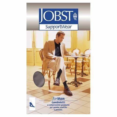 JOBST For Men 15-20mmHg Gambaletto Nero 1