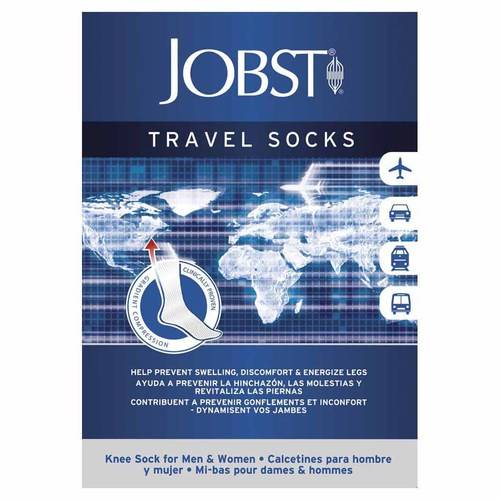 JOBST TRAVEL SOCKS GAMB BLU XL