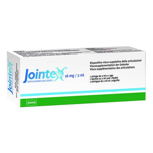 JOINTEX Siringa Intra-art 16mg / 2ml