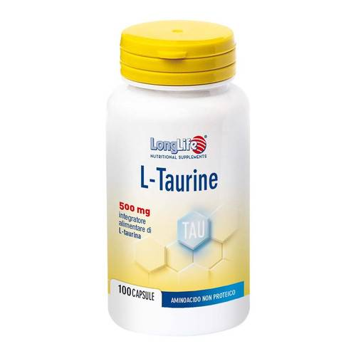 L-TAURINE 500 mg  100 cps