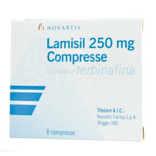 LAMISIL*8CPR 250MG