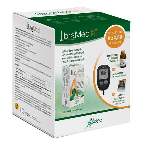 LIBRAMED KIT 138CPR+GLUCOMETRO