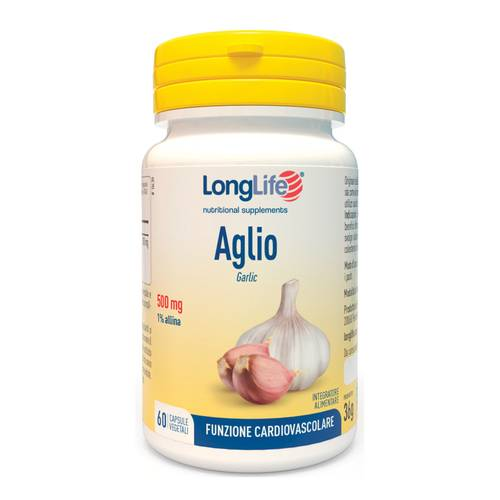 LONGLIFE AGLIO 60CPS VEG