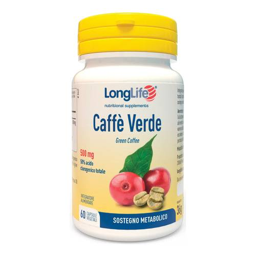 LONGLIFE CAFFE VERDE 60CPS
