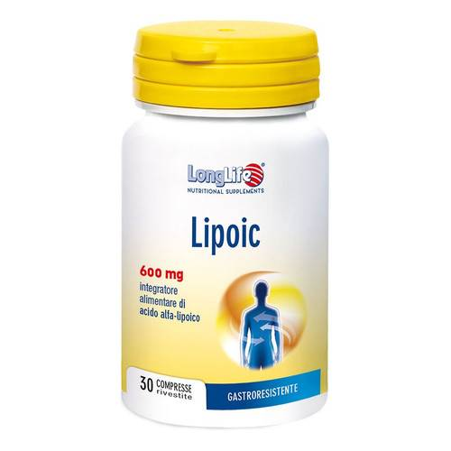 LONGLIFE LIPOIC 30CPR
