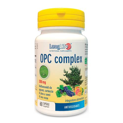 LONGLIFE OPC COMPLEX 60CPS VEG