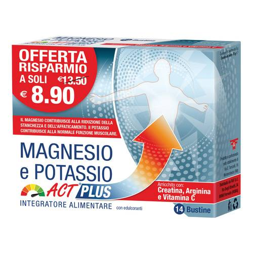 MAGNESIO POTASSIO ACT PLUS14BU