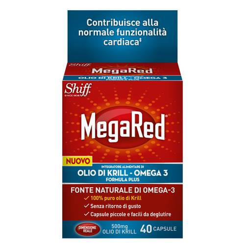 MEGARED OLIOKRILL/OMEGA3 40CPS