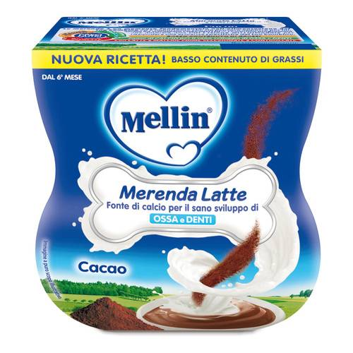 MELLIN MER LATTE CACAO 2X100G