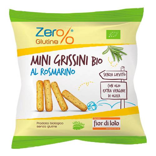 MINI GRISSINI ROSMARINO BIO30G