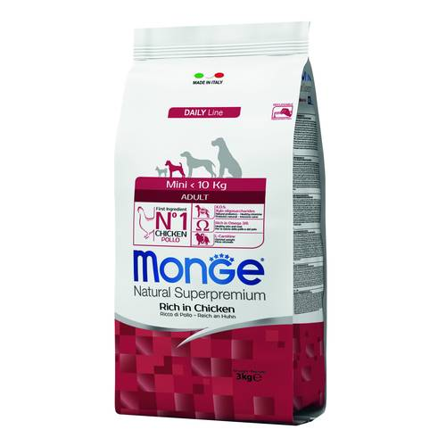 MONGE ADULT MINI POLLO CROC3KG