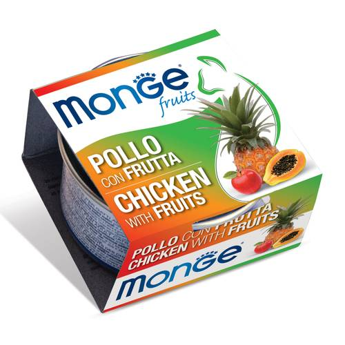 MONGE FRUITS POLLO C/FRUTTA80G