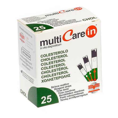 MULTICARE IN COLESTEROLO 25STR