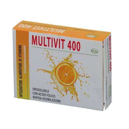 MULTIVIT400 Integratore 30 compresse 12 g