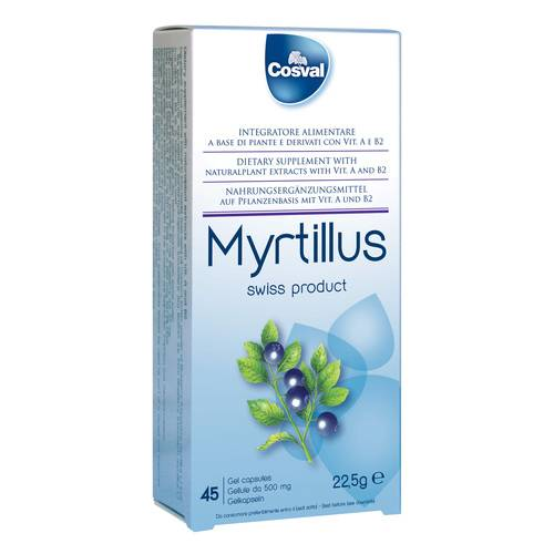 MYRTILLUS 45GELL 500MG