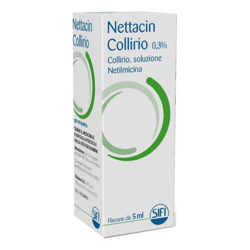 NETTACIN COLLIRIO*COLL5ML 0,3%
