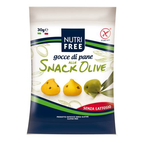 NUTRIFREE GOCCE PANE OLIVE 30G
