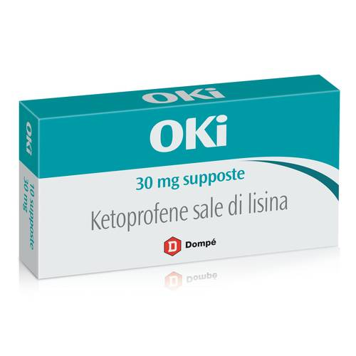 OKI*BB 10SUPP 30MG