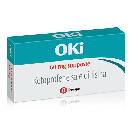 OKI*BB 10SUPP 60MG
