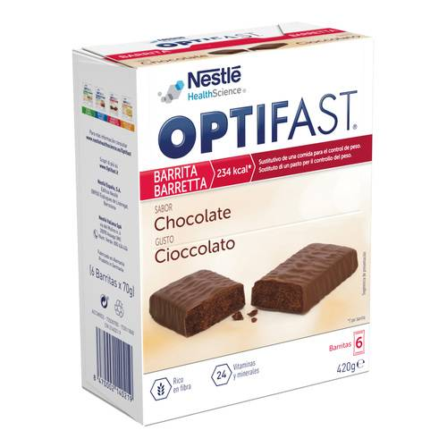 OPTIFAST BARS CIOCCOLATO 6X65G