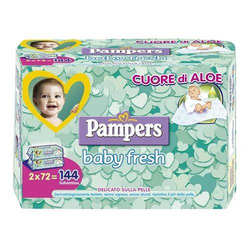 PAMPERS SALV BABY FRESH 144PZ