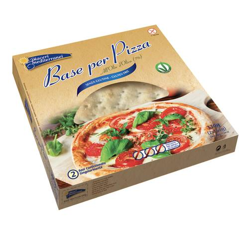 PIACERI MEDIT BASE PIZZA2X165G