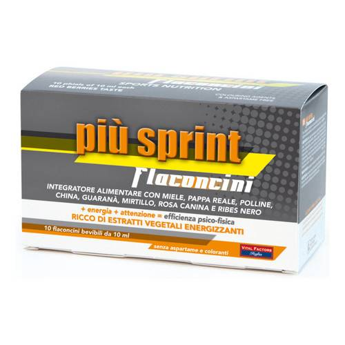 PIU' SPRINT 10 ml 10 Fiale