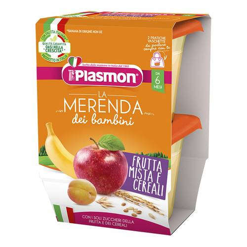 PLASMON FRUT MIST CEREALI AS