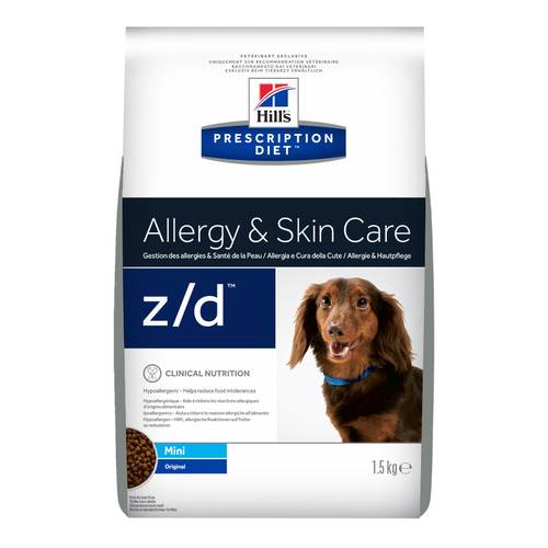 PRESCRIPTION DIET CANE Z/D MINI 1.5KG