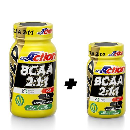 PROACTION BCAA GOLD 200CPR 211