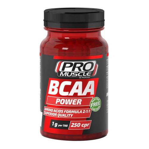 PROMUSCLE BCAA POWER 250CPR