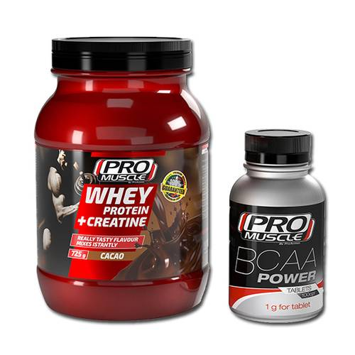 PROMUSCLE WHEY CAC+CRE725+BCAA