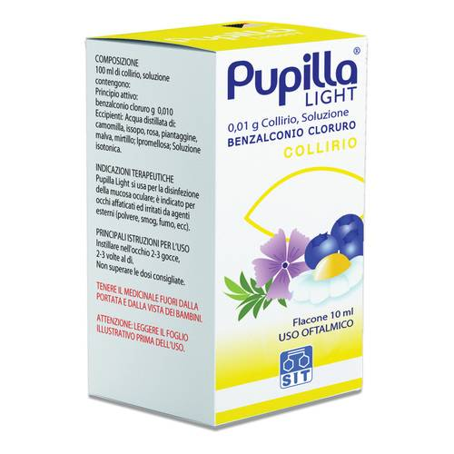 PUPILLA LIGHT Collirio 0,01% 10 ml