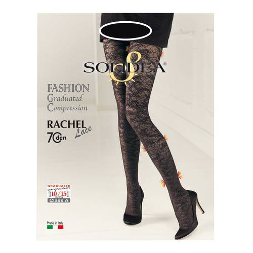 RACHEL 70 LACE NERO 3-ML