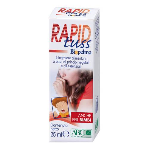 RAPID TUSS BIOPELMO SPRAY 25ML