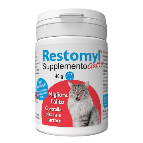 RESTOMYL SUPPLEMENTO GATTO 40G