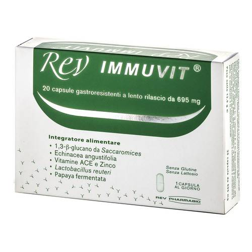REV IMMUVIT INTEGRAT 20CPR 17G