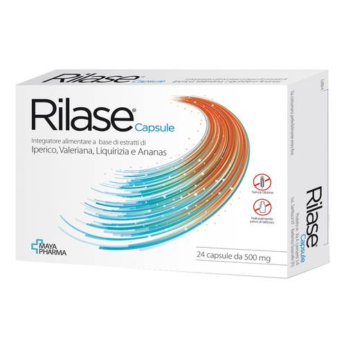 RILASE INTEGRAT 24CPS 500MG