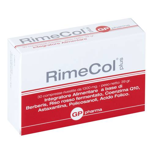 RIMECOL PLUS 30CPR