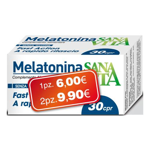 SANAVITA MELATONINA 30CPR NEW