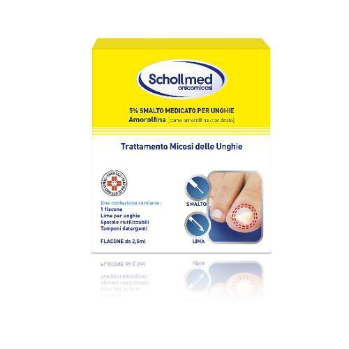 SCHOLLMED ONICOMICOSI*2,5ML 5%