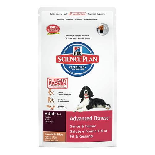 SCIENCEPLAN CANE ADULTO ADVFIT LAMB&RICE 3kg