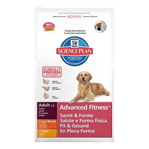 SCIENCEPLAN CANE ADULTO ADVFITNESS POLLO 12kg