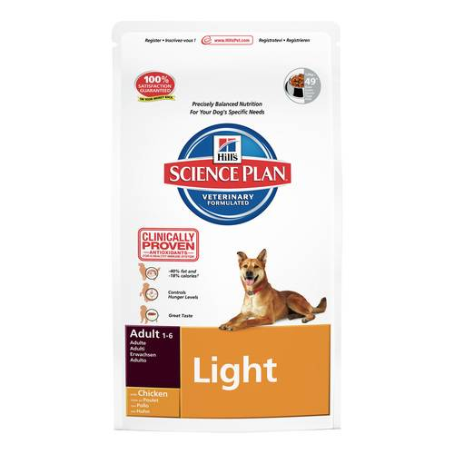 SCIENCEPLAN CANE ADULTO LIGHT POLLO 12kg