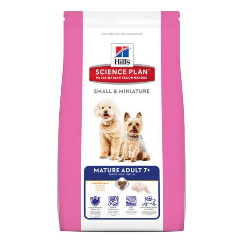 SCIENCEPLAN CANE MATUR ADUL SMALL&MIN POLLO 1,5KG
