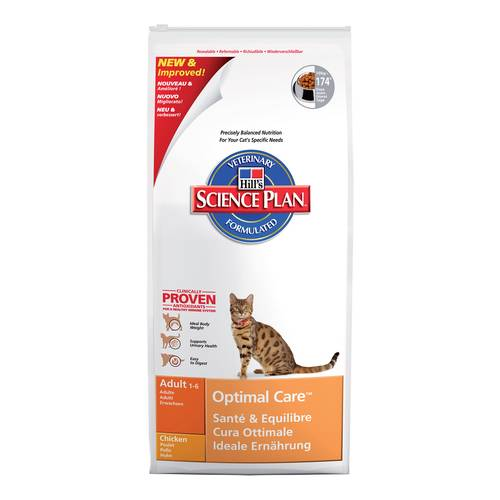 SCIENCEPLAN GATTO AD OPTIMALCARE POLLO 10kg