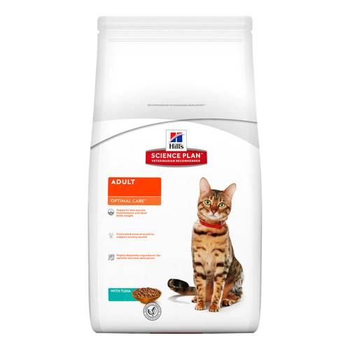 SCIENCEPLAN GATTO ADULT OPTIMALCARE TONNO 2kg